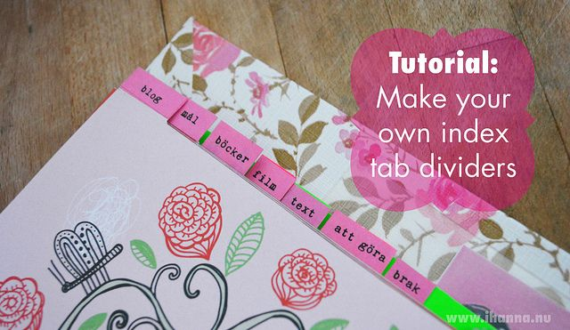 Diy Calendar Tabs : Images about diy planner covers on pinterest