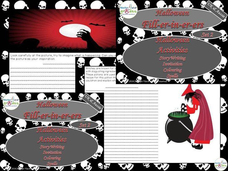 Halloween Fill-er-in-er-ers - Set 2