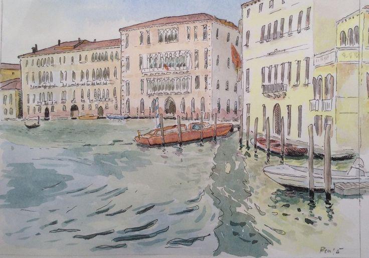 Grand Canal, Venezia, Oct '15