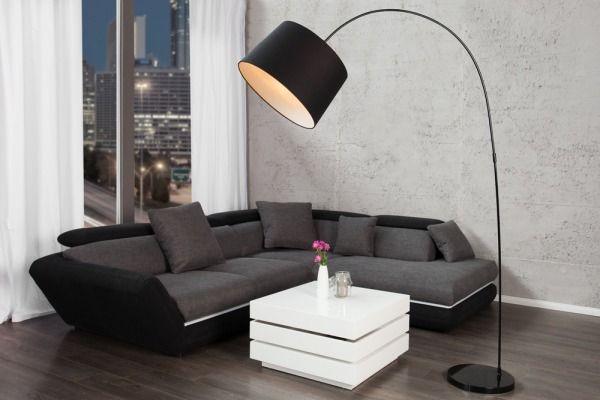 Lampa Podłogowa Black & White Doro