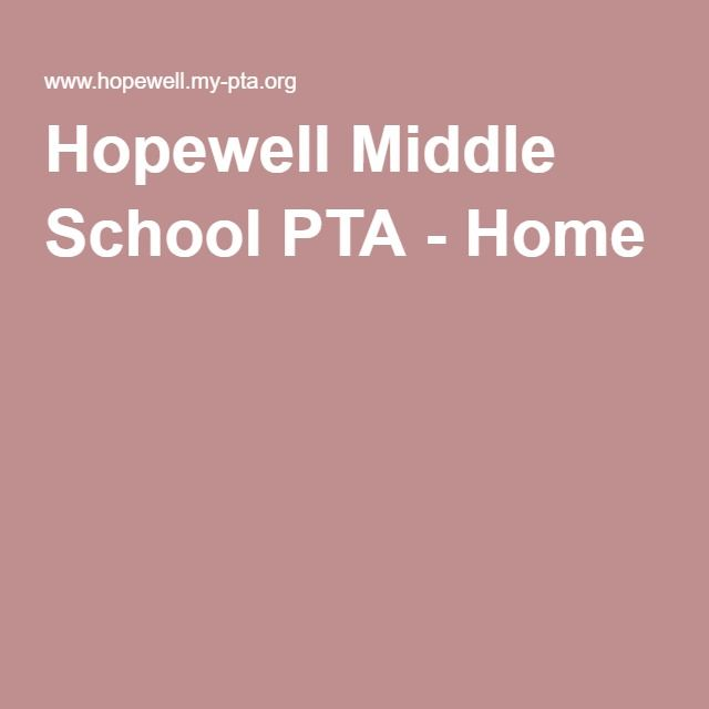 Hopewell Middle School PTA - Home