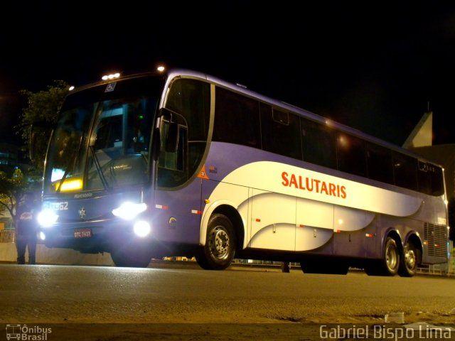 Ônibus da empresa Viação Salutaris e Turismo, carro 13962, carroceria Marcopolo Paradiso G6 1200 HD, chassi Mercedes-Benz O-500RSD. Foto na cidade de Jequié-BA por Gabriel Bispo Lima, publicada em 15/02/2012 20:48:21.