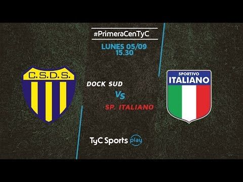 Dock Sud vs Sportivo Italiano - http://www.footballreplay.net/football/2016/09/08/dock-sud-vs-sportivo-italiano/