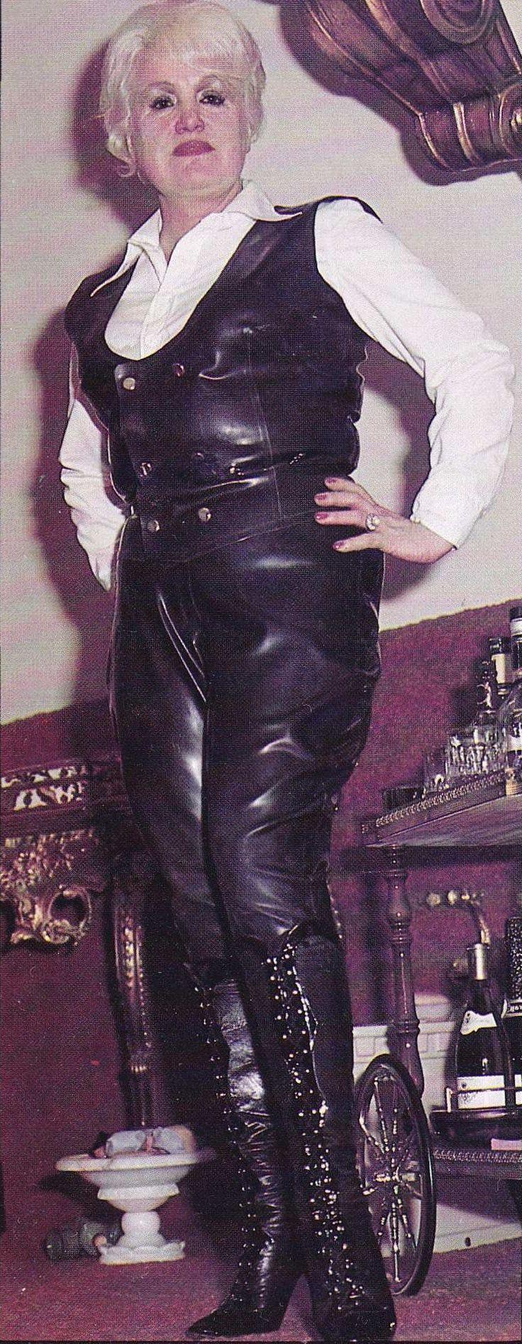 Retro femdom tgp leather