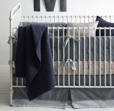 LOVE THIS SET!!!!! Conductor's Stripe & Locomotive Nursery Bedding Collection
