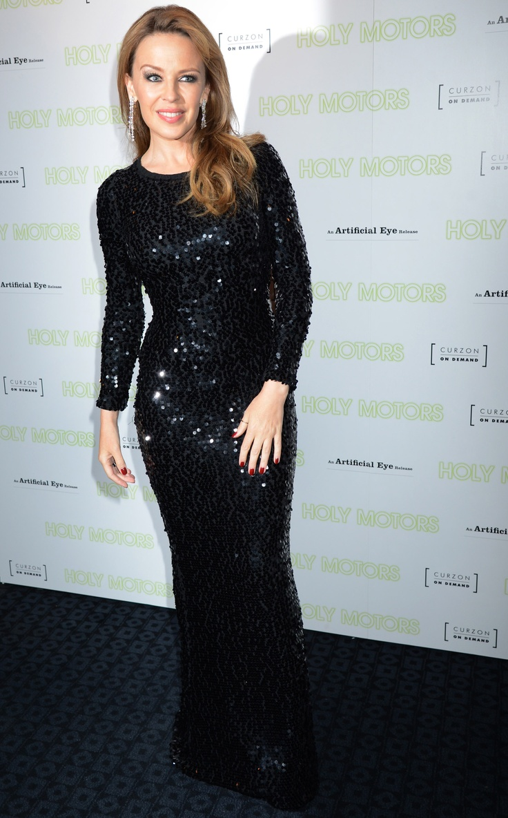 Kylie Minogue in #dolcegabbana to the UK premiere of Holy Motors in London on September 18,2012