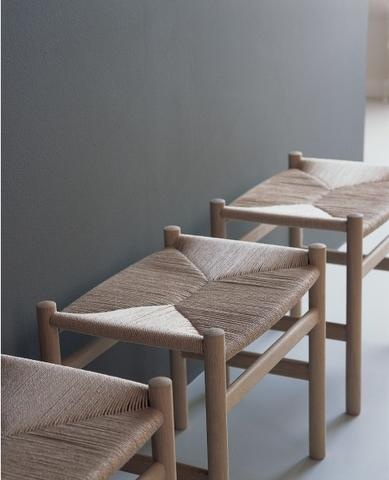 Carl Hansen Ch53 Ottoman, Footstool, Bench - Classic Danish Modern - Designed By Hans J. Wegner - The Century House In Madison, Wi