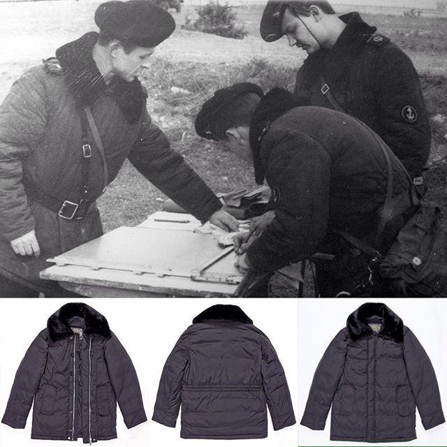#olovomsk #оловомосква #бушлат Бушлат морской пехоты ВМФ СССР утеплялся ватином. Теперь это легкий и очень теплый пуховик из гусиного пуха.