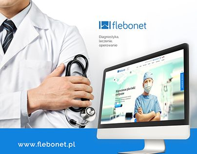 "Check out new work on my @Behance portfolio: ""Flebonet - Medic centrum "" http://on.be.net/1VaFrzS"