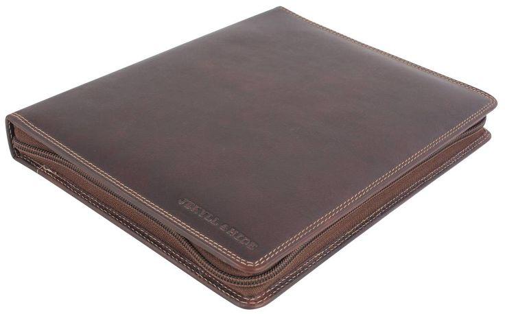 Jekyll and Hide Texas Leather iPad 2 Holder - Coffee | Jekyll and Hide Coffee Tablet Case | KJ Beckett