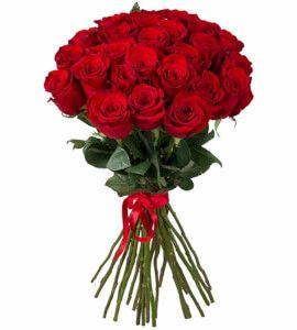 21 красная роза - цветочные букеты на заказ FlowWow!