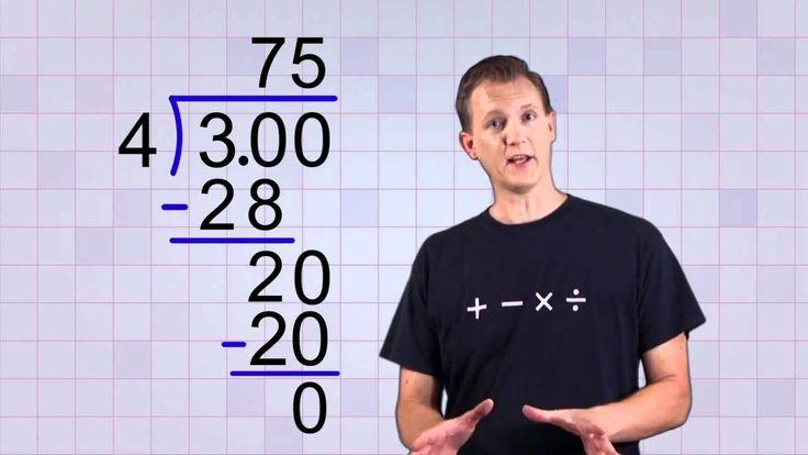 Math Antics - Convert any Fraction to a Decimal