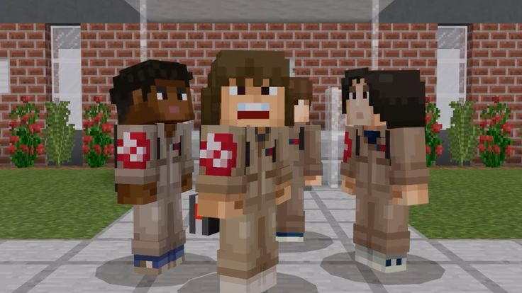 Minecraft Official Stranger Things Skin Pack Trailer A new skin pack featuring various characters from the popular Netflix series is available for download starting today. October 27 2017 at 04:21PM  https://www.youtube.com/user/ScottDogGaming