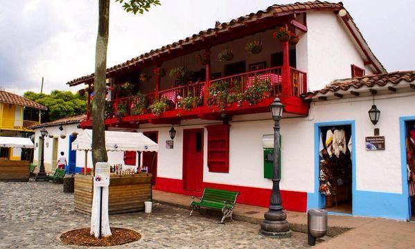 parchando por medallo. Pueblito Paisa...Cerro Nutibara-Medellín/Antioquia.