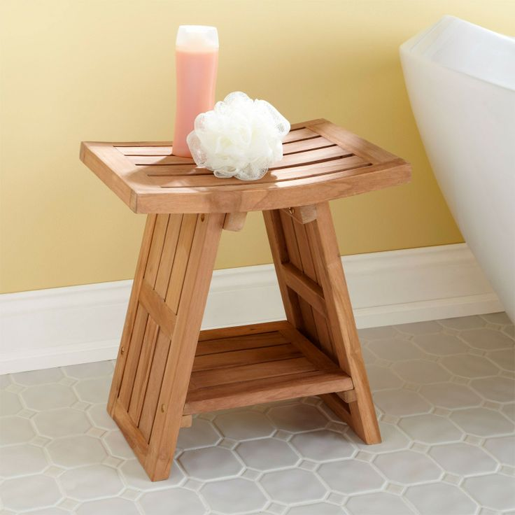 10 best teak shower seat images on Pinterest | Shower seat, Bathroom ...