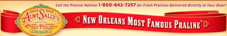 Aunt Sallys Pralines - New Orleans Most Famous Praline