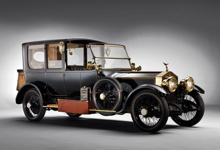 1915 Rolls-Royce 40/50 hp Silver Ghost Limousine by H.A. Hamshaw Ltd.