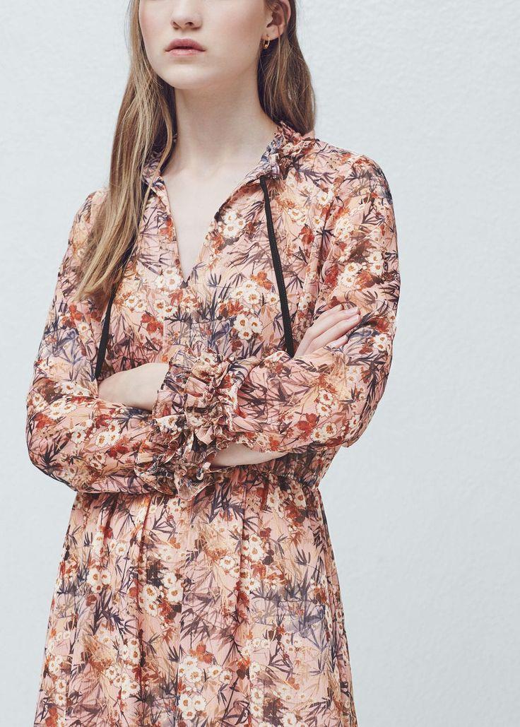 Kleid mit blumendruck - f füMidi Damen | OUTLET Österreich