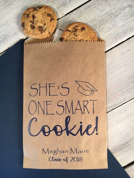 Graduation Favor Bags, Cookie Take Home Bag, Candy…