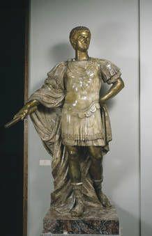 """""""Tiberio"""", Nicolas Cordier, 1610-1612, Alabastro"""