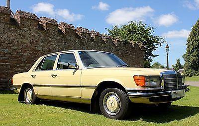 eBay: 1979 Mercedes 280SE saloon 4 speed Automatic