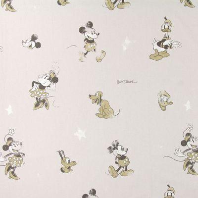 Donald Duck Vintage - Coton - gris clair