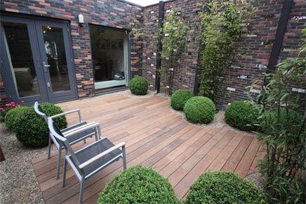 10 beste idee n over houten terras op pinterest houten dek ontwerpen tuinoverkapping - Tuin ontwerp tijdschrift ...