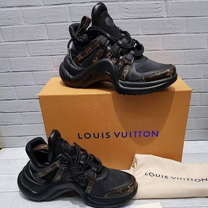 Louis Vuitton Sneakers Size 36 37 38 39 40 100 Original Premium