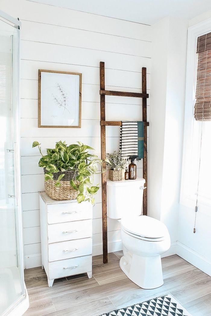 1001 Solutions Inspirantes Pour Trouver Son Idee Deco Toilettes Preferee Idee Deco Toilettes Salle De Bain Simple Deco Toilettes