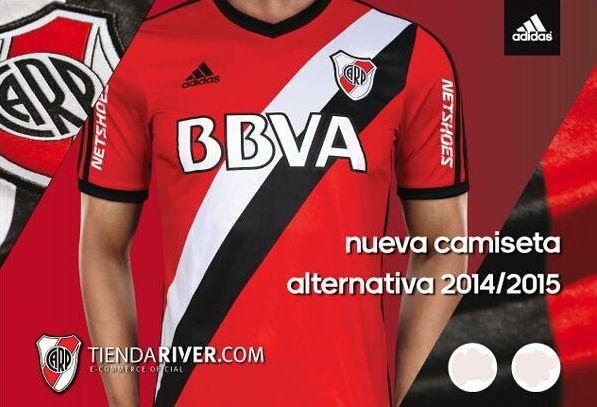 Ganate la nueva camiseta suplente de #RiverPlate. Para participar:  #RT  Seguí a  @CARiverPlate