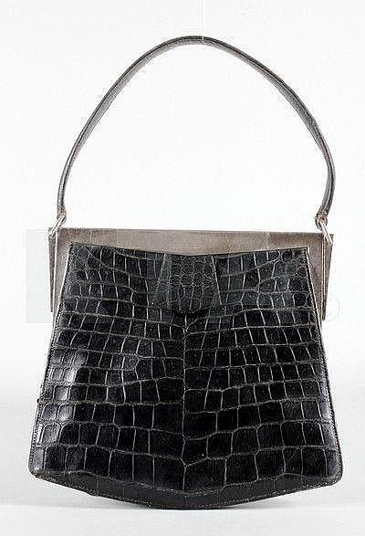 Hermès 'Isabeau' Crocodile Handbag - 1930's - Crocodylus Porosus, engraved to the interior Hermès, Paris -