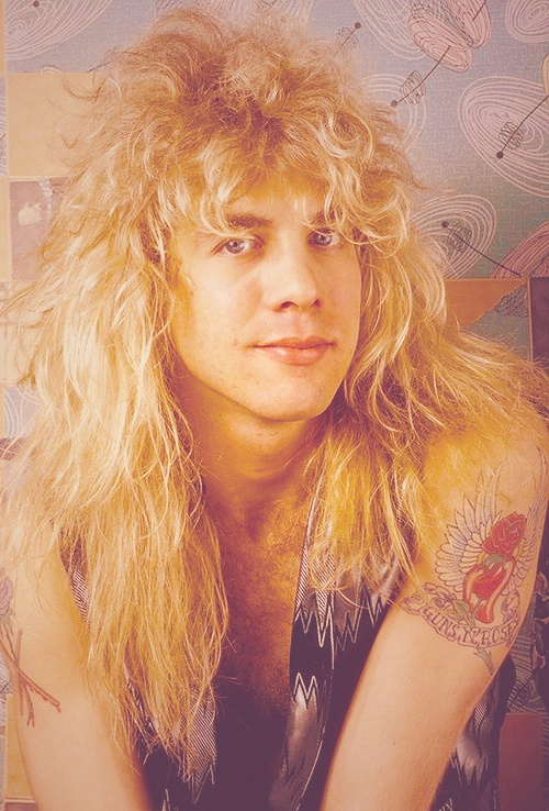 Steven Adler. He was troubled, but cute!