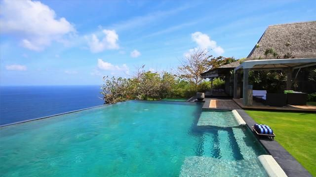 Welcome... Uluwatu Villa 3101 rests in blissful seclusion upon 1.5 hectares (roughly 4 acres) of prime, cliff top land, 170 metres above the rolling surf of the Indian Ocean on the southernmost tip of the island of Bali facing south. The Estate is located near the famous Uluwatu temple, and is immediately adjacent to the Bvlgari Hotel and Resort, overlooking Selonding Beach below.   Villa 3101 offers numerous relaxation areas, so guests will always find a private spot for peace and quiet…