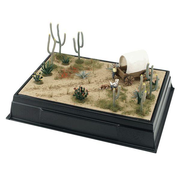 how to build a diorama book