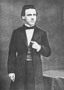 Paul Morphy 1858–1862 United States Un génie des échecs, ses parties sont magnifiques.