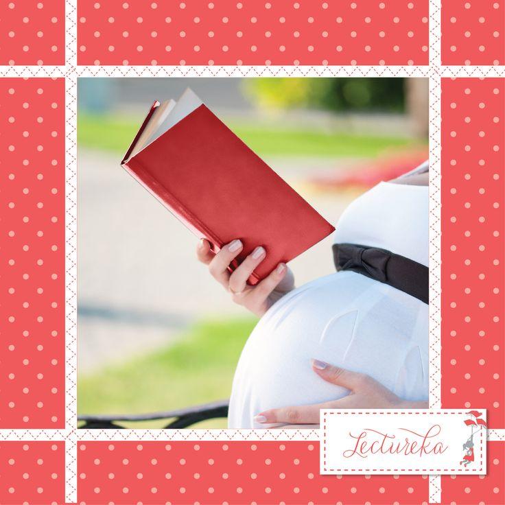 ¿Conoces a alguien que está embarazada? Comparte con ella estas recomendaciones para leerle al bebe desde que está en su panza. #lectureka #lecturainfantil #librosparaniños
