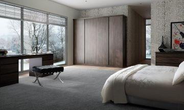 Flint Grey Bedroom Doors - By BA Components