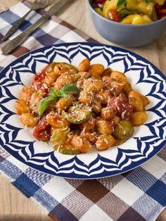 Recette Gnocchis aux légumes, notre recette Gnocchis aux légumes - aufeminin.com