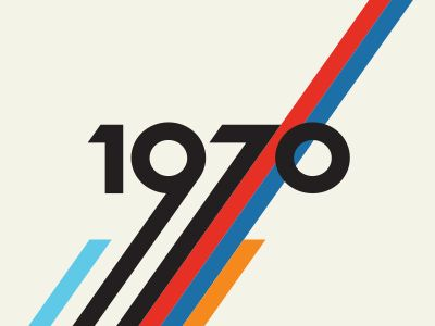1970 retro - we need to try this in our studio www.kingfisherprint.co.uk