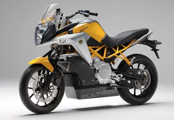 La Bultaco Rapitan est une moto électrique aux performances de premier plan