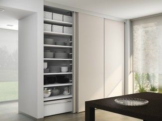Wardrobe with sliding doors ALIANTE SYSTEM | Wardrobe