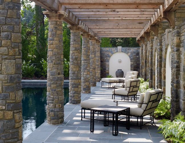 Brick And Stone Columns : Images about brick columns on pinterest faux stone
