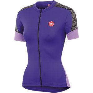 Castelli Women's Scarabocchio Jersey - Violet/Lillac