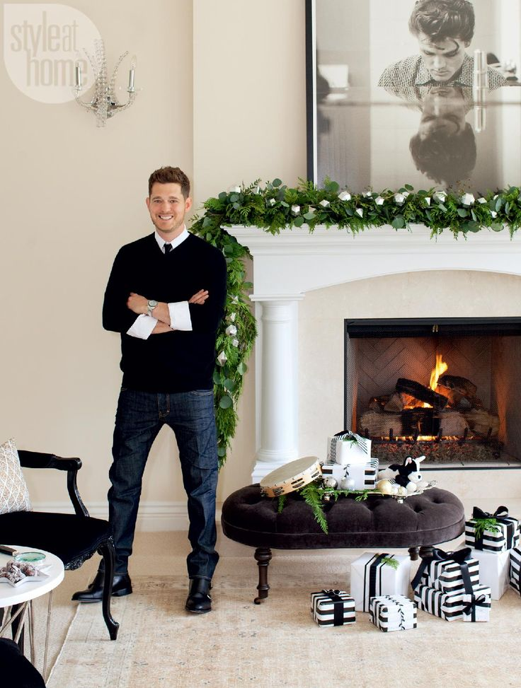 Meaningful decor - Michael Buble take us inside his stylish holiday home