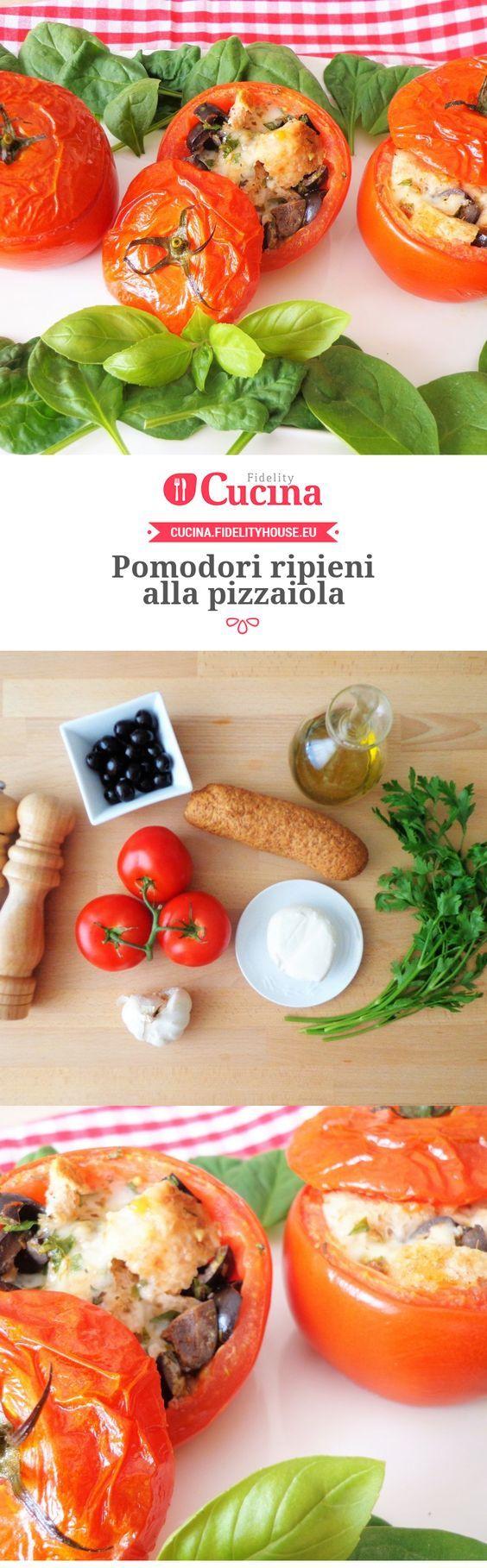 Pomodori ripieni alla pizzaiola della nostra utente Magdalena. Unisciti alla nostra Community ed invia le tue ricette!