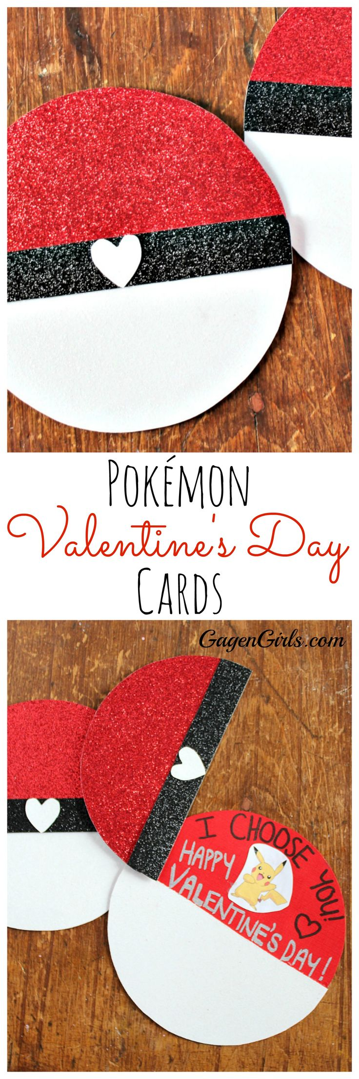 These adorable Pokémon Valentine's Day Cards are a snap to make! Only 15 minutes (plus some drying time) and you'll be wowing that special someone. Check out the tutorial.