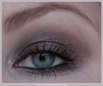 martha macht...: ...make up: metallisches braun