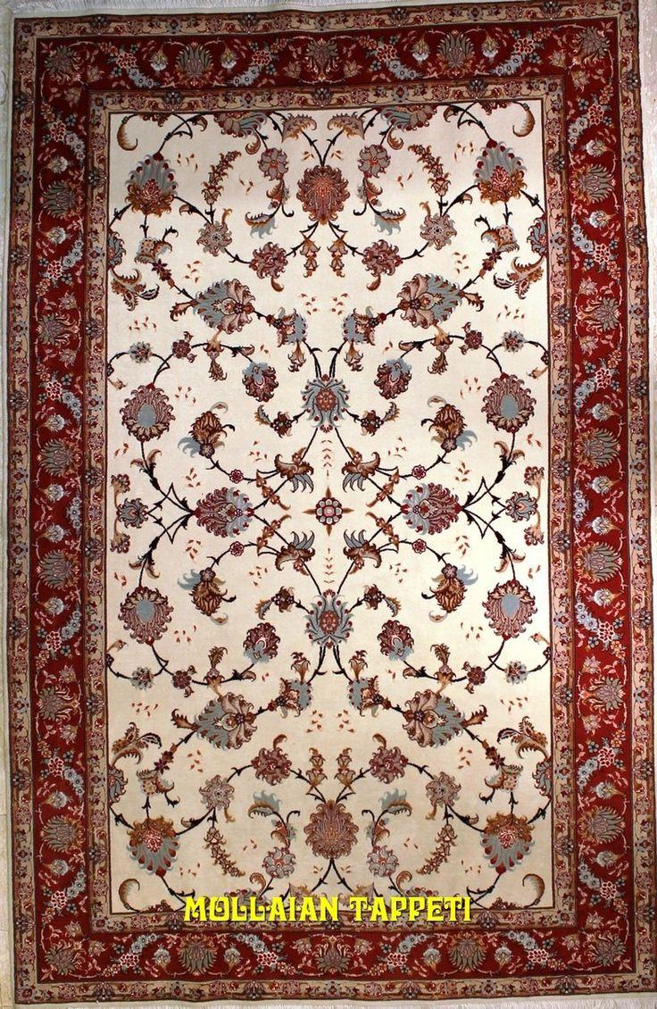 Mollaian Tappeti, Tabriz 60R extra fine lana seta Persia 250x160