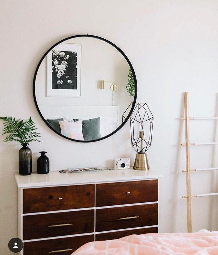 117 melhores imagens de espejo redondo no pinterest amy for Espejo grande redondo