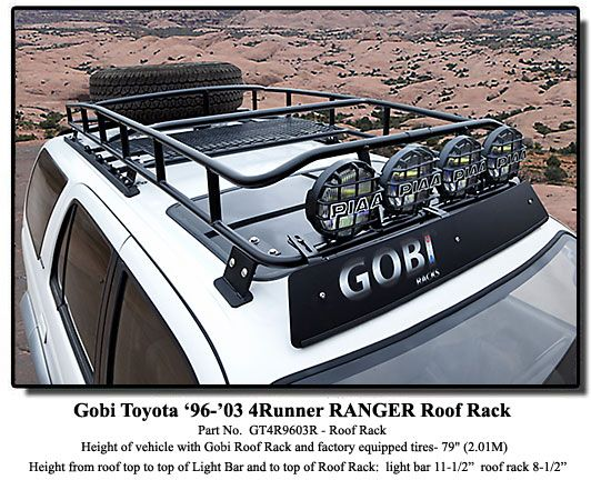 4runner Safari Roof Rackshow Me Your Safari Rack On Your 3rd Gen 4runner   Page 4 R2cbdugu  (532×432) | Zombie Apocalypse Vehicle Project!!!